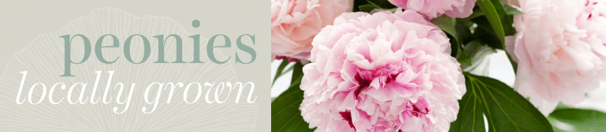 Sweetpea's - Locally Grown, Peonies