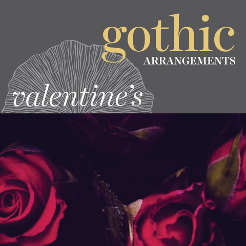 Sweetpea's Toronto Florist - Gothic Inspired Valentine's Day Flowers for Toronto Delivery