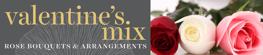 Sweetpea's Toronto Florist - Valentine's Day Mixed Rose Bouquets & Vase Arrangements for Delivery