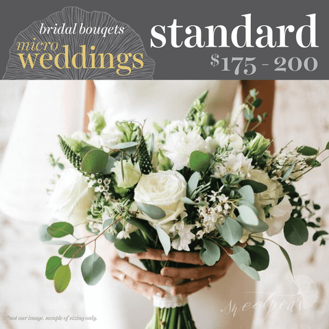 Micro-Weddings - Bridal Bouquet (Standard)