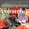Floral Subscriptions - Colourful Flowers
