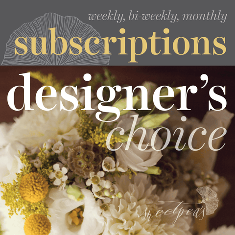 Floral Subscriptions - Designer's Choice Flowers