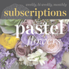 Floral Subscriptions - Pastel