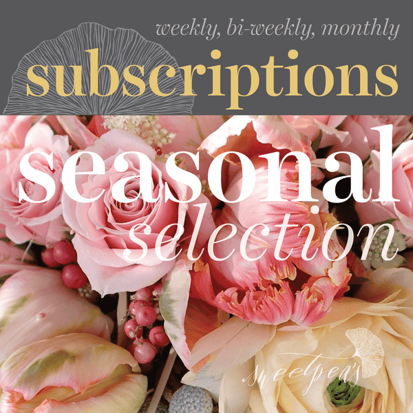 Floral Subscriptions - Seasonal