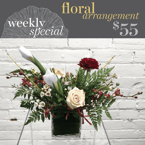 Weekly Special - Pre-Made Floral Arrangement