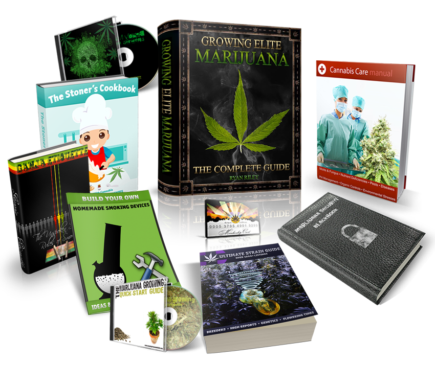 Growing Elite Marijuana - The Complete Grow Guide Package (Digital download only!!)