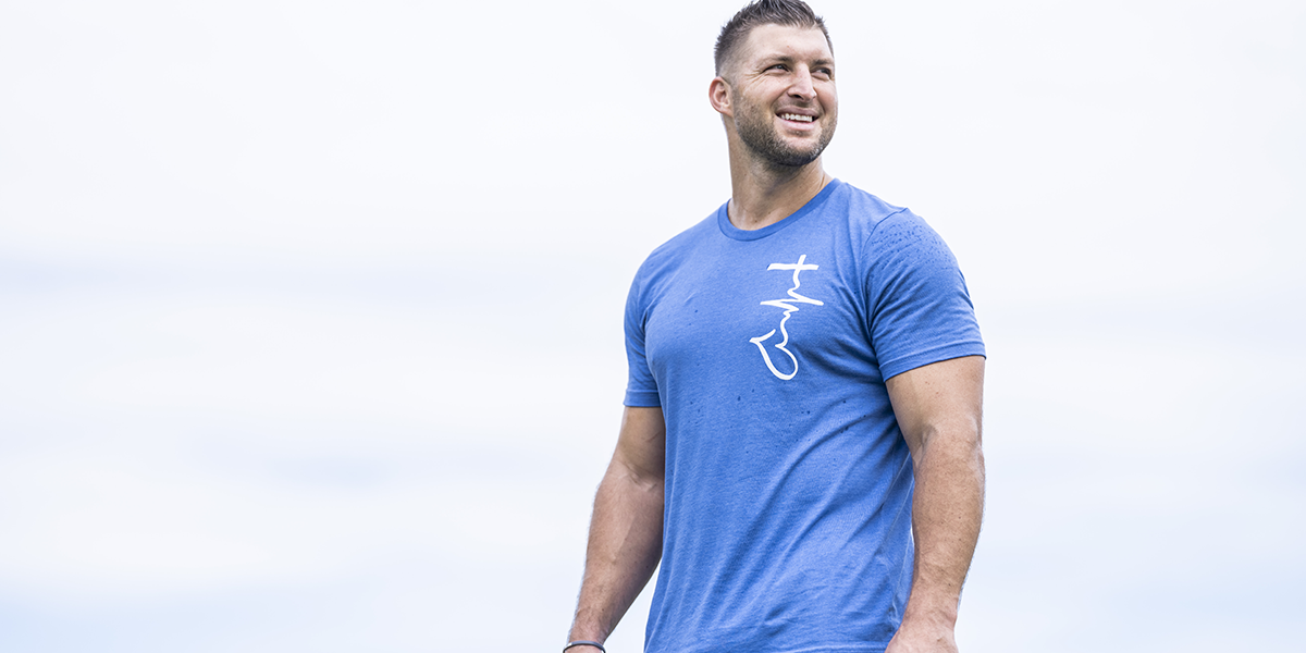 TTF Legacy Tee Worn By Tim Tebow