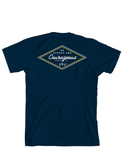 Be Strong & Courageous - Navy T-Shirt