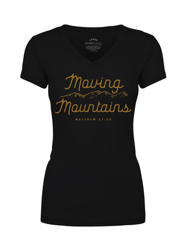 Moving Mountains T-Shirt - Black