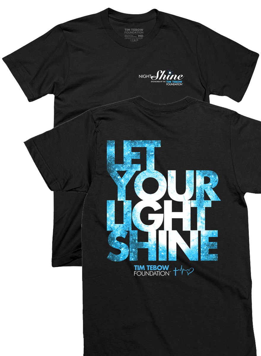 new arrival a4093 d494c Official Night to Shine Tee