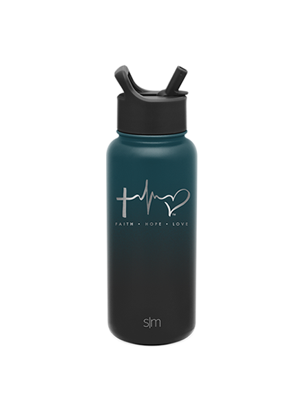 TTF Simple Modern Water Bottle 32oz - Moonlight