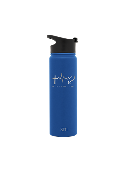 TTF Simple Modern Water Bottle 22oz - Twilight