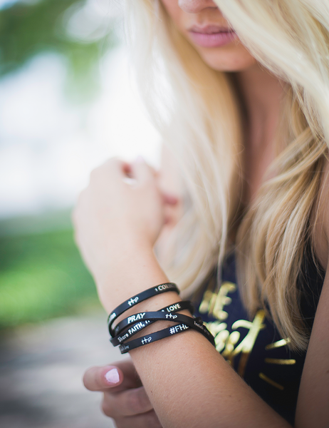TTF Leather Wrap Bracelet