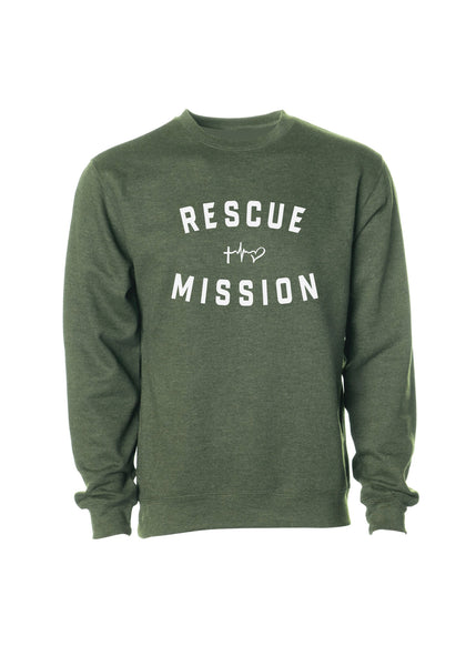 Rescue Mission Crew Sweatshirt - Multicolor