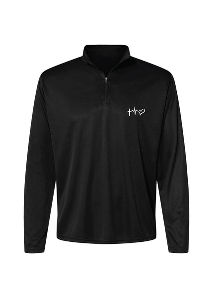 Faith, Hope & Love Athletic Quarter Zip - Multicolor