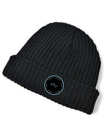 Faith, Hope & Love Circle Beanie