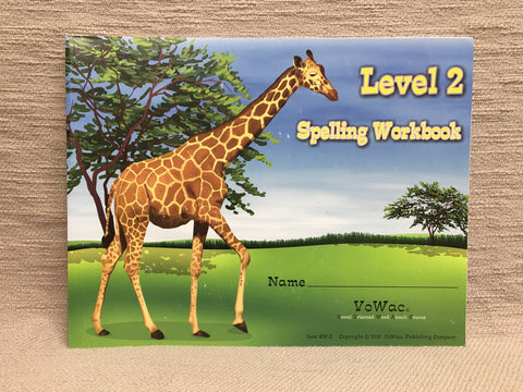 Spelling Workbook - Level 2 (SW-2)