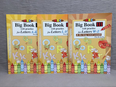 ABC Big Books Letters & Activities  (PK-BB)