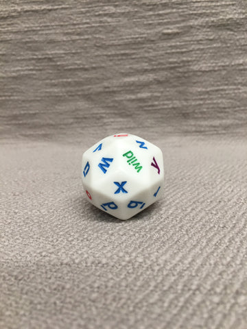 30-Sided Letter Dice   (LD)