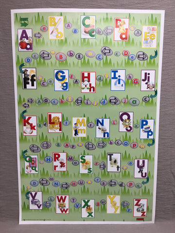 Alphabet Poster & Game Sheet  (AP)