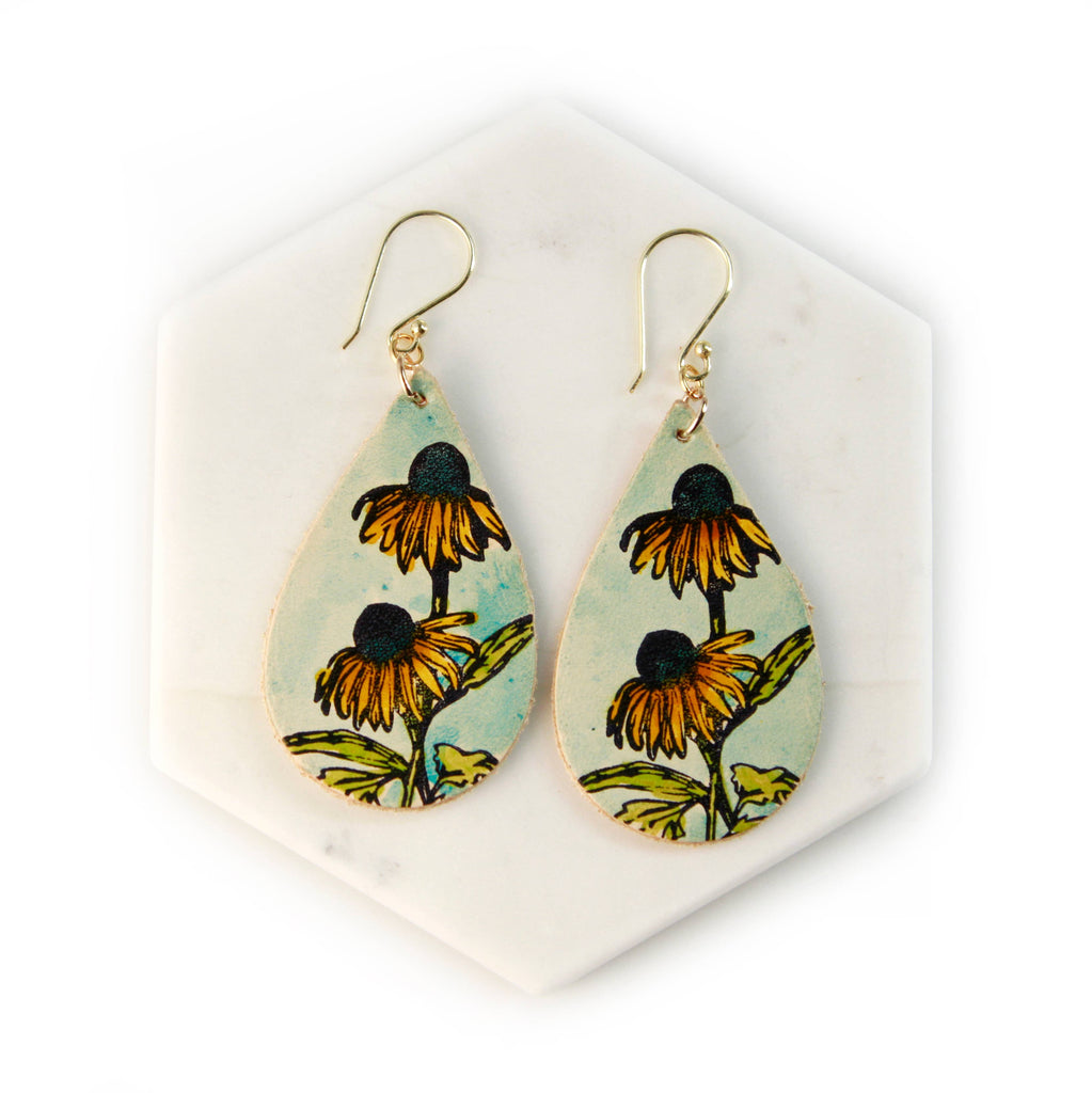 Cornflower Earrings
