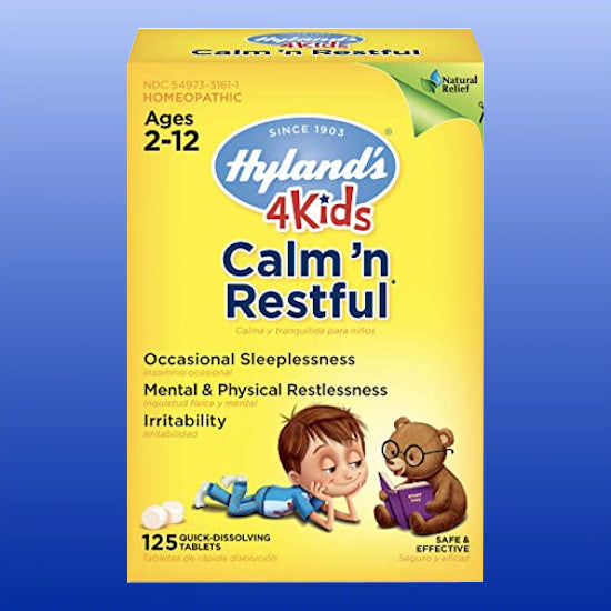 4Kids Calm 'n Restful 125 quick dissolve tablets