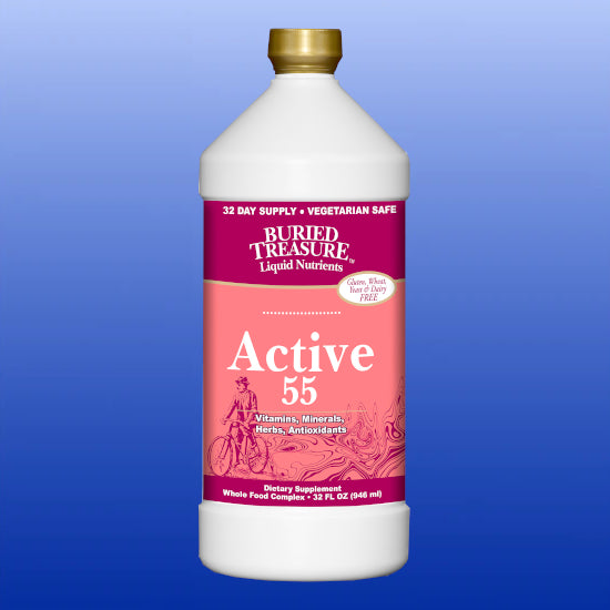 Active 55 Liquid Multivitamin 32 Oz