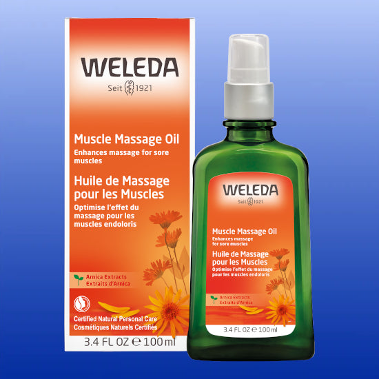 Arnica Massage Oil 3.4 Oz