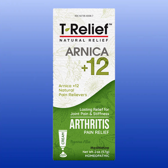 T-Relief™ Arnica + 12 Arthritis Cream 2 Oz