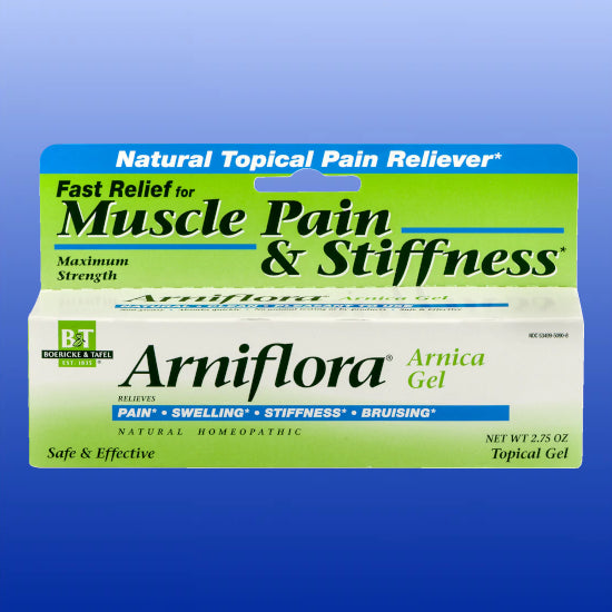 Arniflora Arnica Gel 2.75 oz or 1 oz Tube
