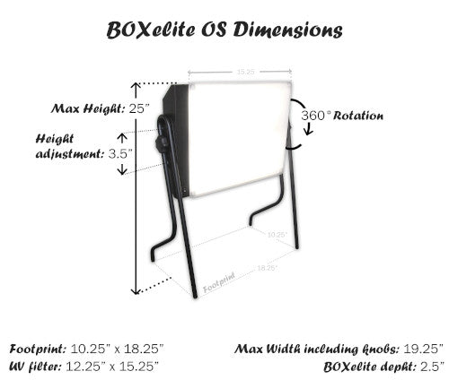 BOXelite Desk Lamp OS