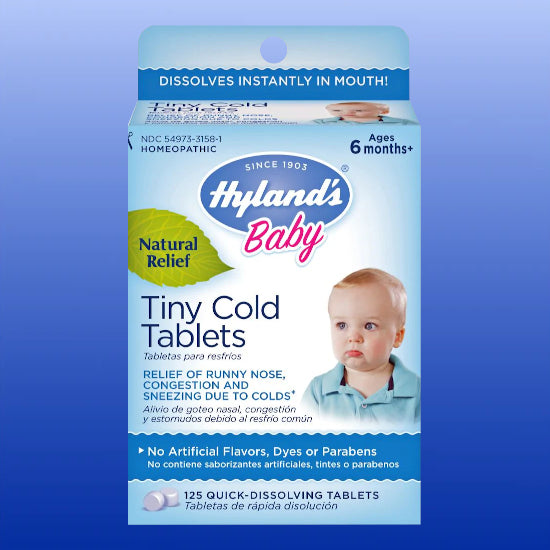 Tiny Cold Tablets 125 Quick Dissolve Tablets
