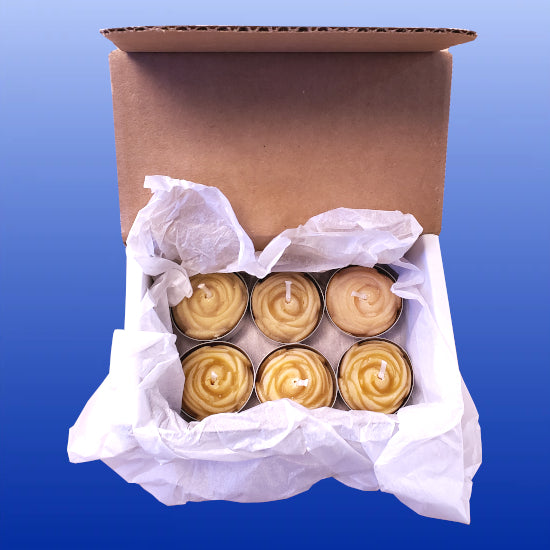 Rose Tealights Box Set