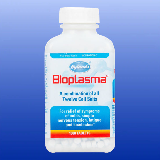 Bioplasma Cell Salts Combination 500 or 1000 Tablets