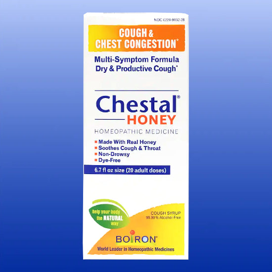Chestal Honey Cough Syrup 6.7 Oz