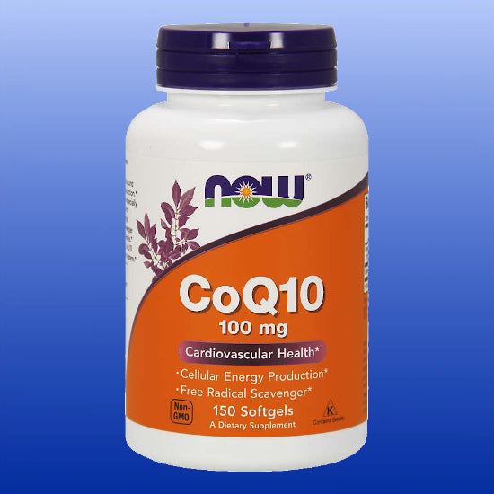 CoQ10 100 mg 150 Softgels