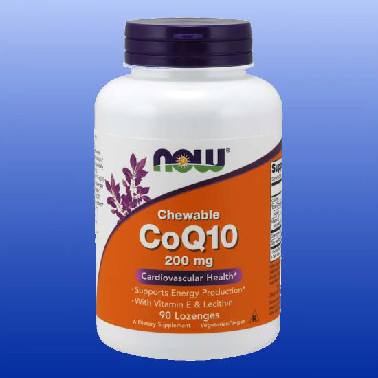 CoQ10 200 mg 90 Chewable Lozenges