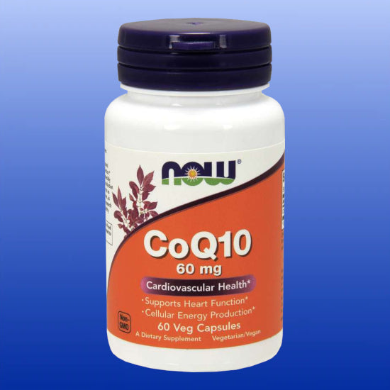 CoQ10 60 mg  60 Softgels
