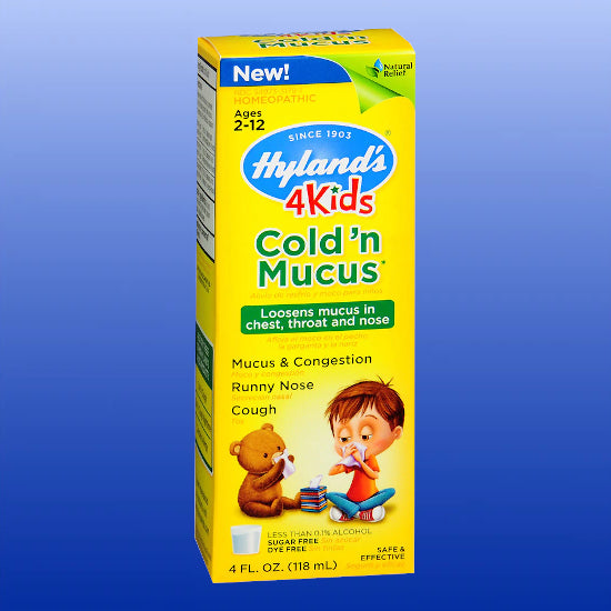 4Kids Cold 'n Mucus 4 Oz
