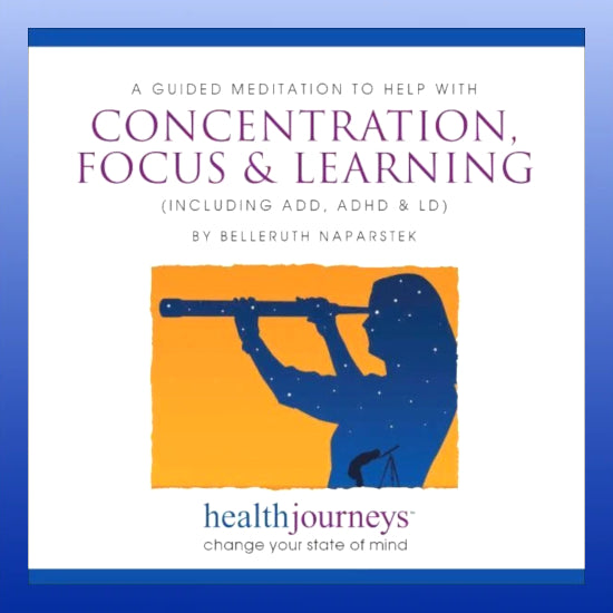Concentration, Focus and Learning CD