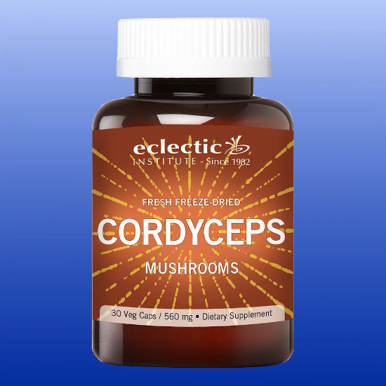 Cordyceps Mushrooms 560 mg 30 Veg Capsules