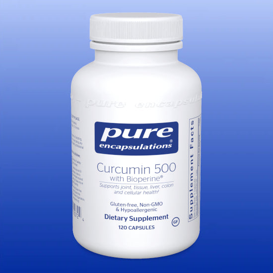 Curcumin 500 with Bioperine® 500 mg 120 Capsules