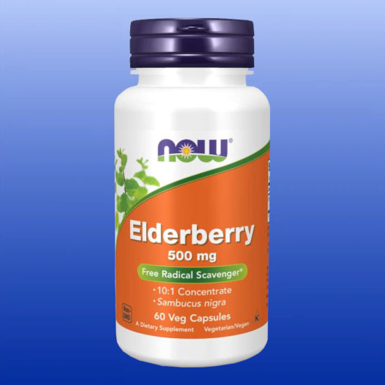 Elderberry 500mg 60 Vegetable Capsules