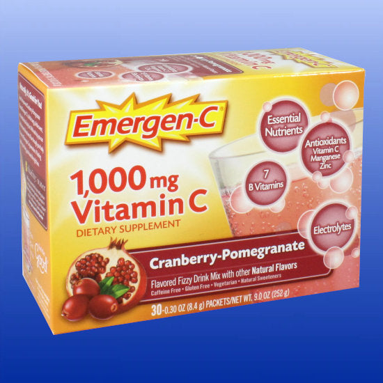 Emergen-C Cranberry Pomegranate 30 packets
