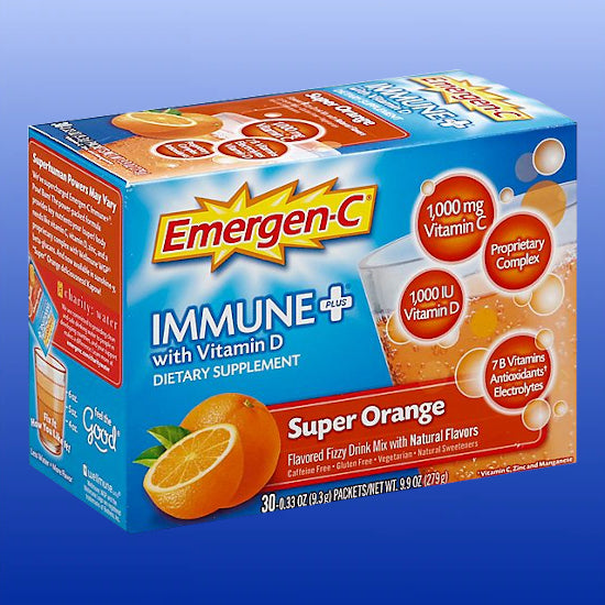 Emergen-C Immune Plus Super Orange 30 packets