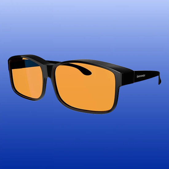 Blue Light Blocking Glasses - Fitover - Black