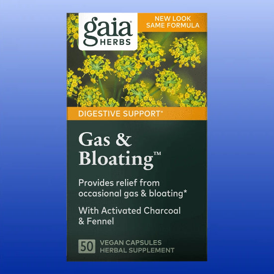 Gas & Bloating™ 50 Vegan Capsules