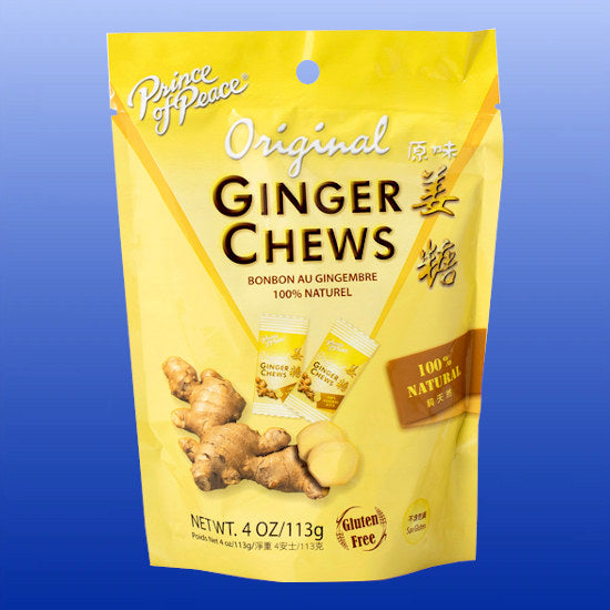 Ginger Chews Original 4 Oz