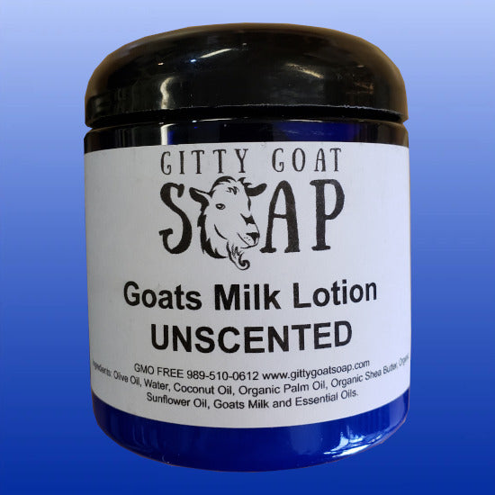 Goats Milk Lotion Unscented 8 Oz