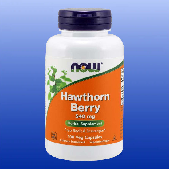 Hawthorn Berry 540 mg 100 Capsules